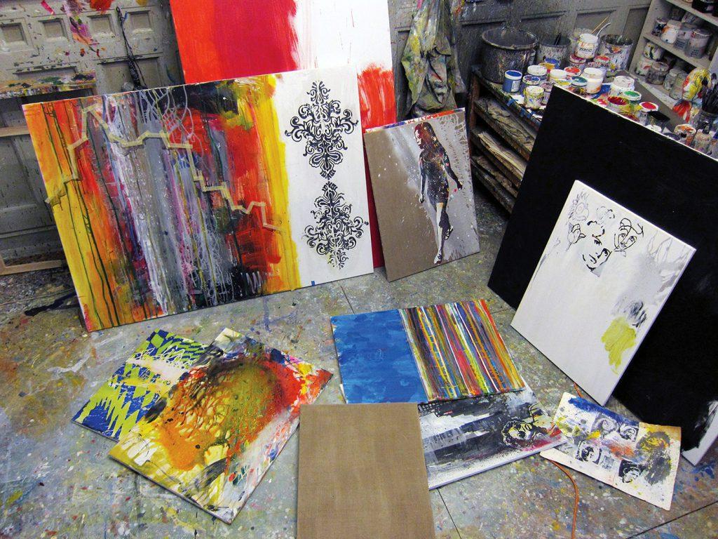 paaskeudstilling atelier 2016