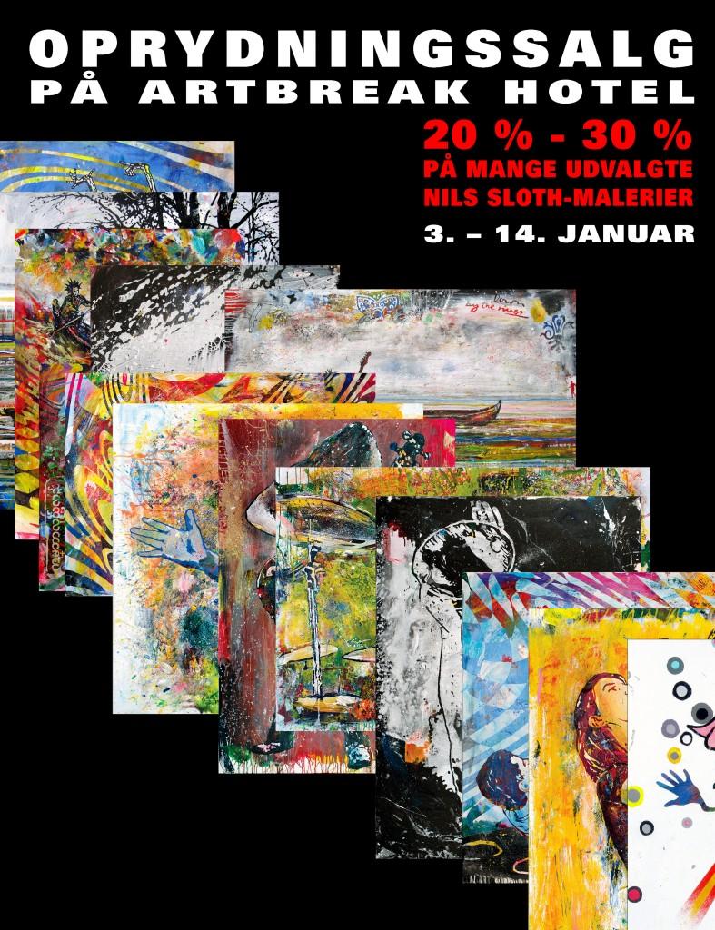 Action River Vanitas, 150 x 150 cm., 2015, kr. 35.000,-